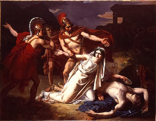 the question of who between antigone and creon is the true hero in sophocles antigone