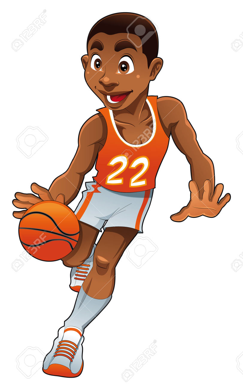 Cartoon Characters Playing Basketball : Black boy cartoon characters adultcartoon