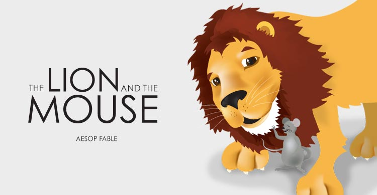 The lion and the Mouse | My Storybook