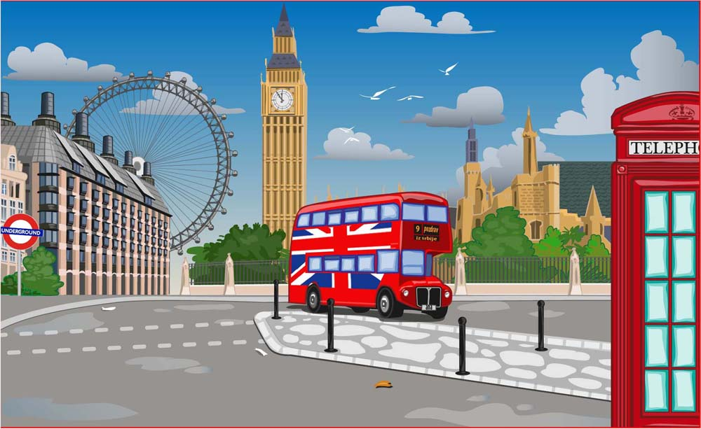 London Bridge Is Falling Down | Cartoon Animation Rhymes Songs for ...