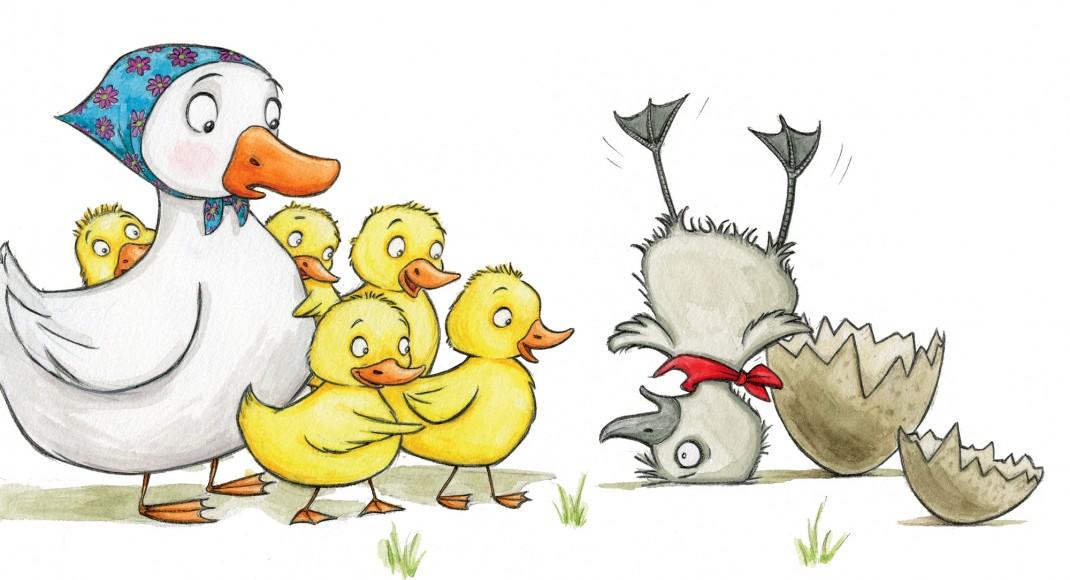 Kết quả hình ảnh cho The ugly duckling