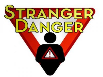 How can someone meet strangers online?