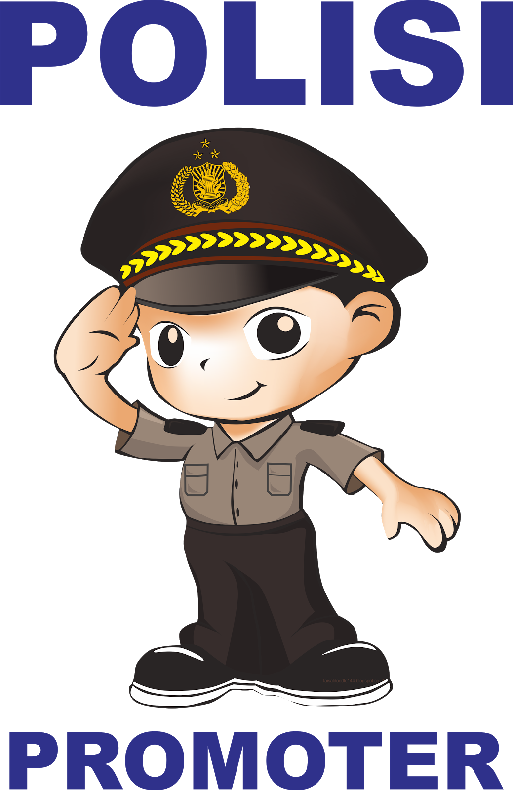 Gambar Kartun Polisi Dan Istri Animo Kartun